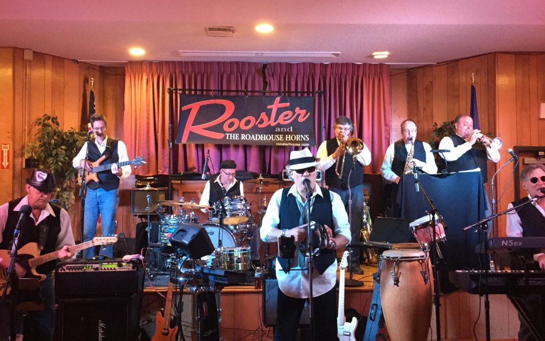 Rooster and the Roadhouse Horns Return to Scott's!